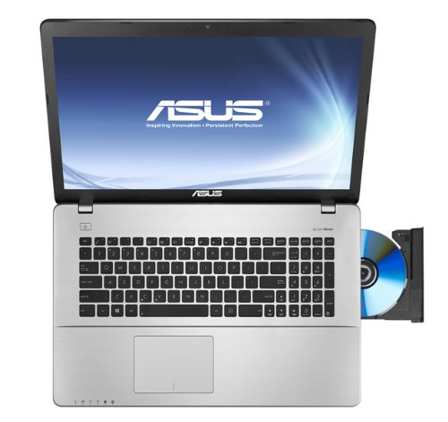 This ASUS laptop even comes with a CD/DVD drive, which is getting rarer and rarer each year!